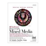 Strathmore 500 Heavy Weight Mixed Media Pad 9X12
