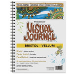 "Strathmore Bristol Vellum Visual Journal 100lb. 5.5x8"" 48 pages"