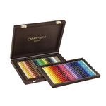 Caran D'Ache Supracolor Soft Aquarelle Limited Edition 30th Anniversary Watercolor Pencil Wood Box Set Of 60