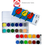 Talens Opaque Watercolor Pan Sets