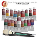 Tawnee Corning LUKAS 1862 Oil Psychedelic Figurative Deluxe Set