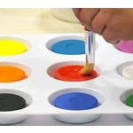 Non-Toxic Tempera Paint Cakes By First Impressions