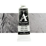 Grumbacher Academy Oil Color 37 ml Tube - Thalo Silver