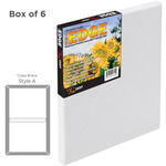 "The Edge All Media Cotton Canvas 11/16"" Box of Six 18x24"""
