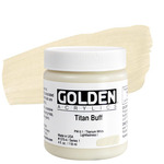 GOLDEN Heavy Body Acrylic 4 oz Jar - Titan Buff