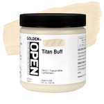 Golden Open Acrylic 8 oz Jar - Titan Buff
