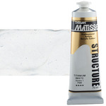 Matisse Structure Acrylic Colors Titanium White 75 ml