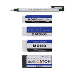 Tombow Mono Eraser Value Set Of Five Assorted Erasers
