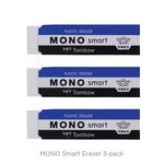 3pk Tombow Mono Smart Eraser White