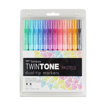 Tombow Twintone Marker Set Of 12 Pastel Colors