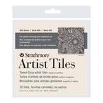 """Strathmore Artist  Tiles Toned Tiles 4x4"""" 30pk - Gray"""