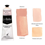 Chroma Atelier Interactive Artists Acrylic Toning Grey Pinkish 80 ml