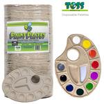 Toss Paint Plates Disposable Palettes