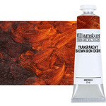 Williamsburg Handmade Oil Paint 37 ml - Transparent Brown Iron Oxide