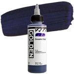 GOLDEN High Flow Acrylics Transparent Dioxazine Purple 4 oz