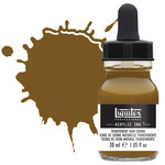 Liquitex Professional Acrylic Ink 30 ml Bottle - Transparent Raw Sienna