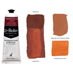 Chroma Atelier Interactive Artists Acrylic Trans. Red Oxide 80 ml