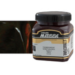 Matisse Structure Acrylic 250 ml Jar - Transparent Venetian Red