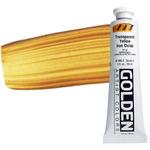 GOLDEN Heavy Body Acrylic 2 oz Tube - Transparent Yellow Iron Oxide