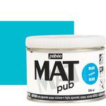 Pebeo Acrylic Mat Pub 500ml - Turquoise Blue