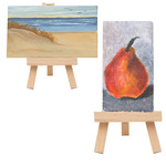 Ultra Mini Stretched Canvas And Easels by Creative Mark