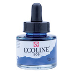 Ecoline Liquid Watercolor 30ml Pipette Jar Ultramarine Deep