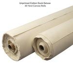 Unprimed Cotton Duck Deluxe Canvas Rolls