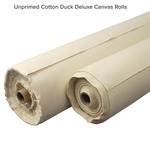 Unprimed Cotton Duck Deluxe Canvas Rolls