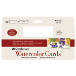 Strathmore Watercolor Greeting Cards 10 Pack 3.875x9""