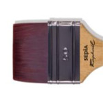 Raphaël Sepia Flat Wash Brush sz 100