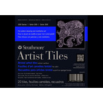 "Strathmore Artist Tiles 300 Bristol Vellum Pad 6x6"" 20pgs - Natural"