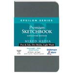 """Stillman & Birn Epsilon 3.5x5.5"""" Softbound Portrait Sketchbook"""