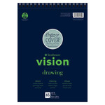 Strathmore Vision Drawing 9x12 In Pad Wire Bound - Medium Surface - 65 Sheets