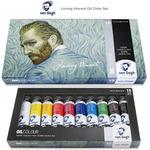 Van Gogh Loving Vincent Oil Color Set 10 X 40ML