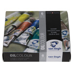 Van Gogh Oil Color 20Ml Starter Set of 6 Colors