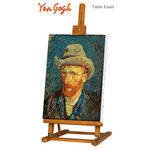 Creative Mark Van Gogh Wood Table & Display Easel