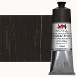 Michael Harding Handmade Artists Oil Color 225ml - Van Dyke Brown