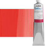 LUKAS Berlin Water Mixable Oil Color 200 ml Tube - Vermilion Hue