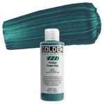 Golden Fluid Acrylic 4 oz Bottle - Viridian Green Hue