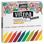 Pebeo Vitrea 160 Glossy Marker Set of 9
