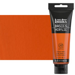 Liquitex Basics Acrylics 4oz Vivid Red Orange