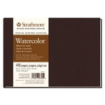 """Strathmore Hardbound Art Journal 400 Series Recycled Watercolor Paper (140 lb.) 8.5x5.5"""" - 48 Pages"""