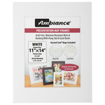 Ambiance 5-Pack Mat Frame 11x14/ 7.75x9.75 Pic Size White