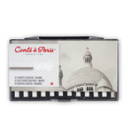 Conté Crayon Box of 12 - White HB