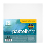 "Ampersand Museum Series Pastelbord Single Board 8x8"" - White"