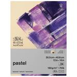 Winsor & Newton Pastel Paper 75 lb 12x16 Pad Earth Colors 24-Sheets