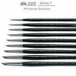 Winsor & Newton Series 7 Kolinsky Sable Miniature Round Brushes