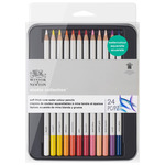 Winsor & Newton Studio Watercolour Pencil Tin Set of 24