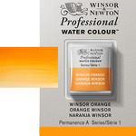 Winsor & Newton Professional Watercolor Half Pan - Winsor Orange