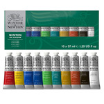 Winton Oil Color Paint Starter Set of 10 37ml Tubes Winsor and Newton